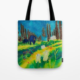 Bears in the Alpine Tote Bag
