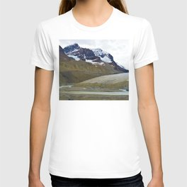 Athabasca Glacier in the Columbia Icefields, Jasper National Park T-shirt