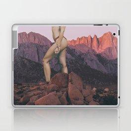 Giant Woman in the Desert in Joshua Tree Laptop & iPad Skin