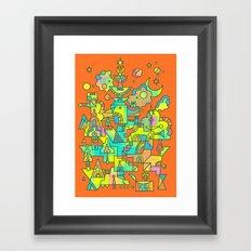 Structura 10 Framed Art Print