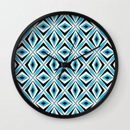 symetric patterns 70 -mandala,geometric,rosace,harmony,star,symmetry Wall Clock