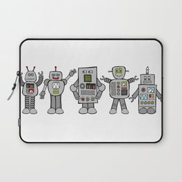 Retro Robots Laptop Sleeve