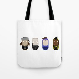 Boys From The Dwarf - Red Dwarf Dave Lister Rimmer Tote Bag