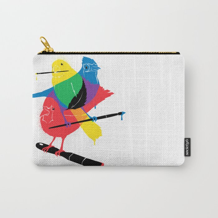 Colors of a Feather Carry-All Pouch