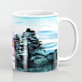 Enchanted Castle Illustration Coffee Mug