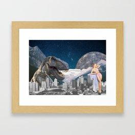 AMOR A PRIMERA VISTA  Framed Art Print