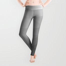 Grey Gradient Geometric Mesh Pattern Leggings