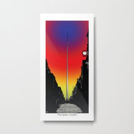 The Spire, Dublin Metal Print