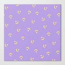 Sailor Moon · Usagi Bed Cover Version 2 Canvas Print