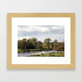 Ireland Horses Framed Art Print