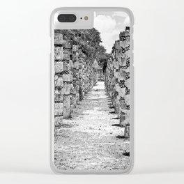 1000 Columns Clear iPhone Case