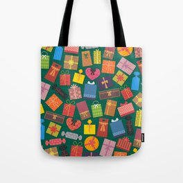 Fun Gift Box pattern Tote Bag