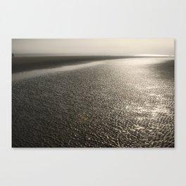 Sand Moguls Canvas Print