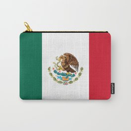 The Mexican national flag - Authentic high quality file Carry-All Pouch