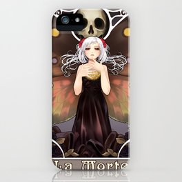La Morte iPhone Case