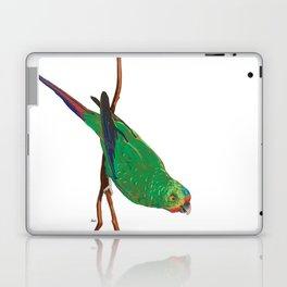 Swift Green Parrot Laptop & iPad Skin