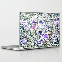oakland Laptop & iPad Skins featuring Purp Lives (OH. Oakland) by The Bun