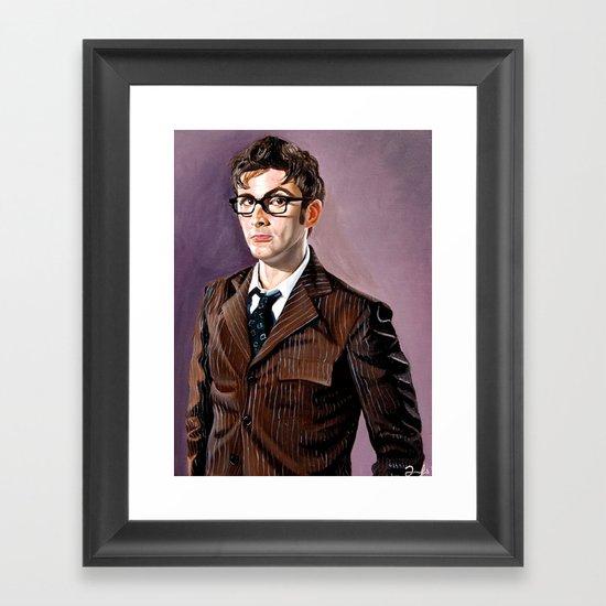 The Tenth Doctor Framed Art Print