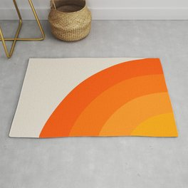 Sunrise Rainbow - Left Side Rug