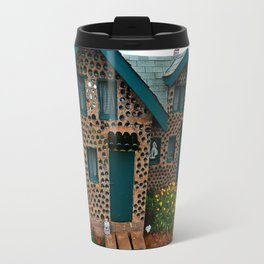 Green Gabled Bottle House Travel Mug