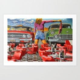 Rock n Roll 1 Art Print
