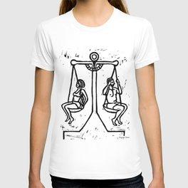 Balancing the Sexes T-shirt