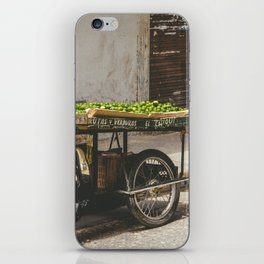 Limes on the Street, Cartagena, Colombia iPhone Skin