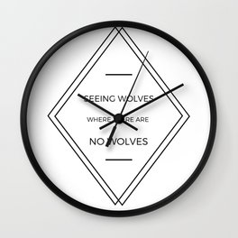 Seeing Wolves (Where There Are No Wolves) 07 Wall Clock