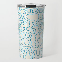 Puzzle Drawing #1 Travel Mug
