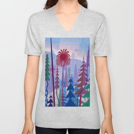 Cambria Sunset Unisex V-Neck