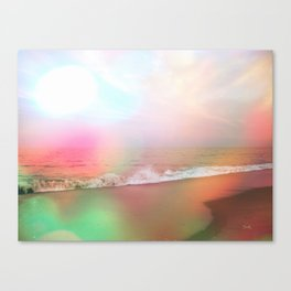 Waves of Imagination Canvas Print
