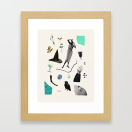 SCAVENGER HUNT Framed Art Print