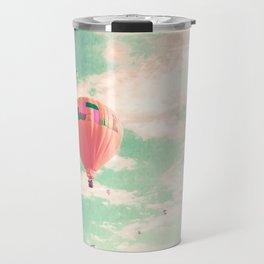 Pink nursery hot air balloons Travel Mug