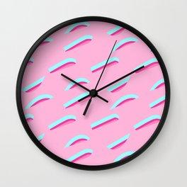 pattern no.7 / sth pink! Wall Clock