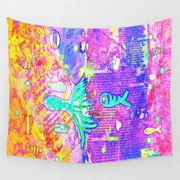 I VII Psychedelia Wall Tapestry