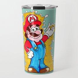 Plumber whole stole Superman's Colors Travel Mug