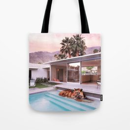 Palm Springs Tigers Tote Bag