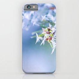 Bitter Cold, Milky Mist iPhone Case