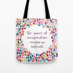 Imagination [Collaboration with Garima Dhawan] Tote Bag