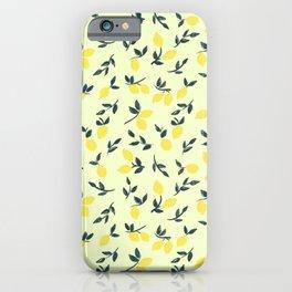 Lemon Theme iPhone Case