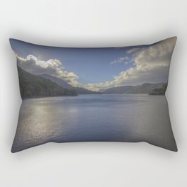 Ripple. Rectangular Pillow