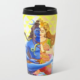 Shiva and Shakti Metal Travel Mug