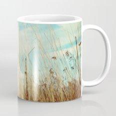a winter field Mug