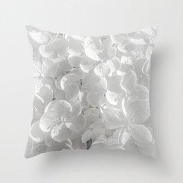 Holy Hydrangea V Throw Pillow
