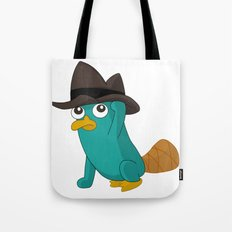 Baby Perry the Platypus Tote Bag