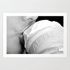 Like a Frozen Kiss Art Print