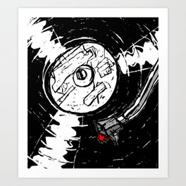 Long Play Art Print