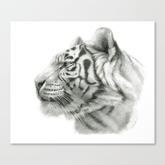 Tiger G2012-048 Canvas Print