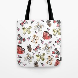Fly fly butterfly Tote Bag