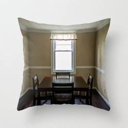 To Dine Alone... Throw Pillow